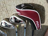 Wilson deep red golf clubs full set only used 3 times