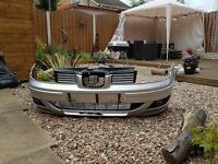 Seat leon front bumper