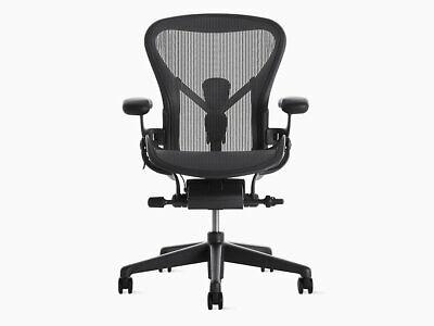 Authentic Herman Miller Aeron Chair B Medium Size Dwr