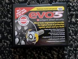 Mercedes Benz Evo5 Wheel Locking Nuts