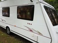 Elddis knightsbridge se 524, year 2005 , 4 berth excellent condition