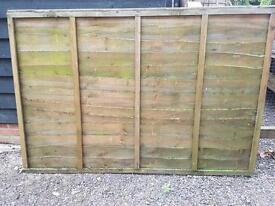 Fence panels 5ft