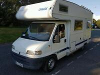 Chausson welcome 3 5/6 berth motorhome fiat ducato camper van 1999 lhd cassette toilet