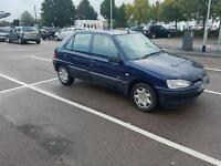 2002 PEUGEOT 106 1.1 ZEST 2. ONE LADY OWNER FROM BRAND NEW. GREAT CONDITION. TAX & MOT