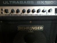 Behringer ultrabass amp