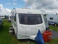 Caravan coachman 646/6 birth with fixed bunks