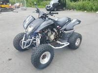 Black Road legal Quadzilla 450r sport with 12 months MOT ,first to view will buy px welcome