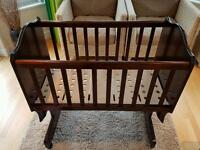 Boori country collection swinging crib
