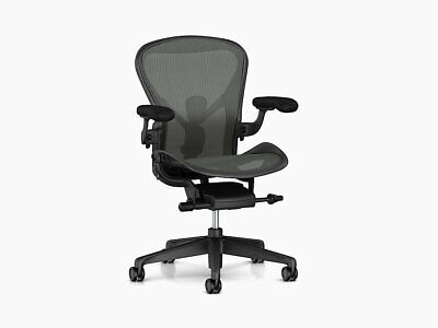 Authentic Herman Miller Aeron Chair Size C Dwr