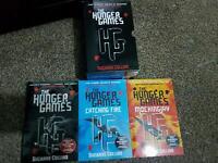 HUNGER GAMES TRILOGY BOOKS