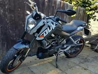 KTM DUKE 125 BARGAIN! REQUIRES TLC