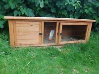 Rabbit hutch for sale. Run included