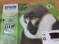 Epson origional ink cartridges multipack for T0895