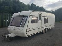 Mardon dalesman 600/6 twin axel 6 berth Touring caravan cassette toilet