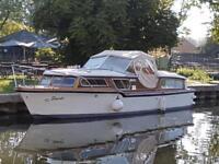 Luxury river cruiser