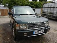 Range rover vogue 3.0 diesel 4x4 may swap for another 4xr