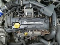 Vauxhall 1.7 dti astra corsa combo engine