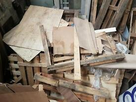 Free scrap fire wood
