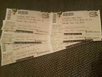 3 x kendal calling full weekend tickets with camping