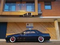 Nissan skyline r32 4 door gtst (drift track jdm stance turbo)