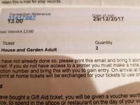 Chatsworth Tickets