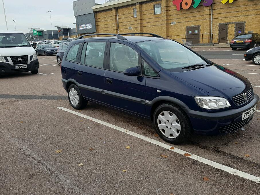 VAUXHALL ZAFIRA 2003 1.6 SEVEN SEATER. SUPERB CONDITION. PERFECT DRIVE GUARANTEED. BRILLIANT!!