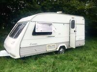 Sprite, Europa Contrast 2 Berth Caravan 1994