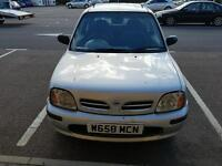 NISSAN MICRA 1.0 TAX AND MOT. FULL SERVICE HISTORY.