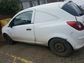 2009 vauxhall corsa d van breaking for spares 1.3cdti corsa d