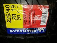225 40 r19 tyres x2 michelin pilot sports brand new bmw fitment