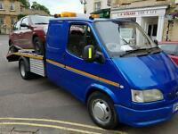 Transit crew cab recovery swap
