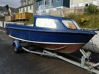 Motors fishing boat