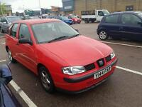 SEAT IBIZA 1.4 5 DR HATCH. STUNNING ALL ROUND. DRIVES AS NEW