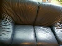 2 seater leather sofa mint condition
