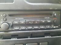 Vauxhall zafira CD player
