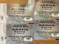 Sasha Tickets Lush Portrush