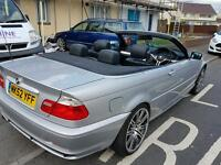 Bmw 320 convertible full leather seats TV satnav