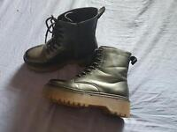 Doc Martin style boots, size 6