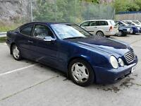 Mercedes clk 320. 3.2 auto petrol. bargain torquay PX?