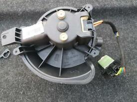vauxhall corsa d heater motor and resistor with wiring 2006>