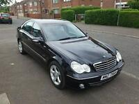 Mercedes benz c200cdi 2.2 avantgarde se 2005 full years mot very clean car first to see will buy