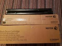 Xerox 252 black drum and black toner