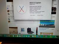 Mid 2012 macbook pro Intel i5,4gb ram 1tb hdd may swap