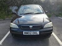 2002 Vauxhall Astra LS 1.6 Dual fuel LPG