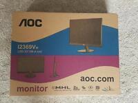 "HD LCD 23"" monitor"