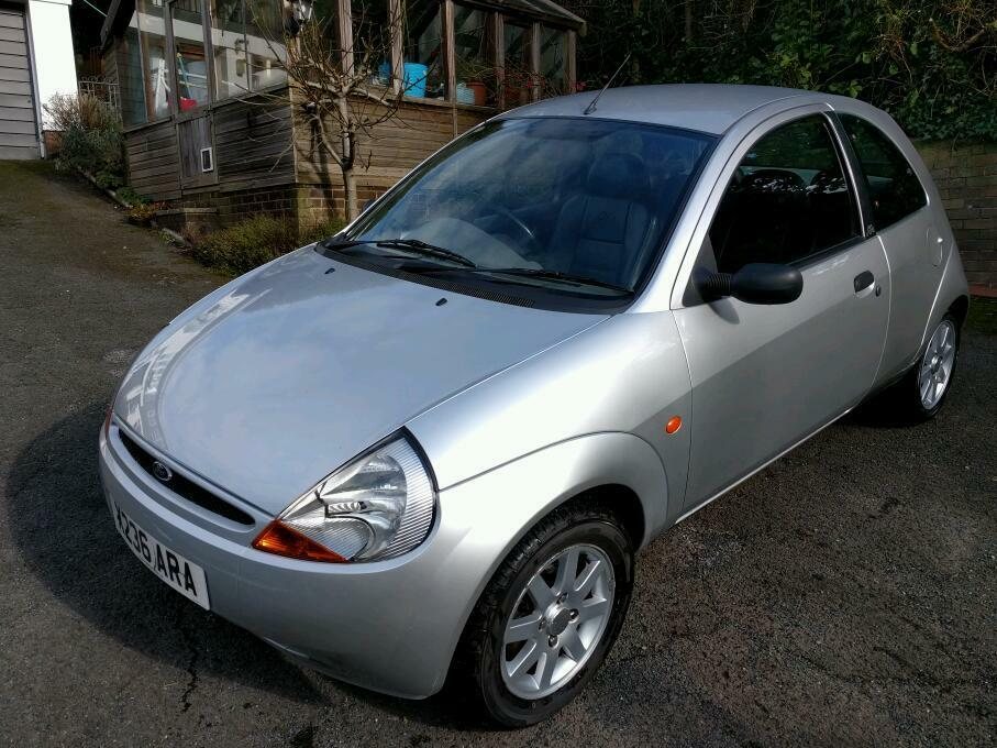 ford ka 2001 silver limited edition sold in torquay devon gumtree. Black Bedroom Furniture Sets. Home Design Ideas