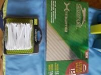 Slazenger Golf balls and Dunlop tees