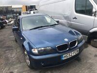 2003 BMW 3 SERIES 320D SE (MANUAL DIESEL)