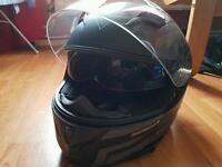 Motorbike Helmet and 2 Piece Waterproofs + Extras Read Add!!! All Frank Thomas