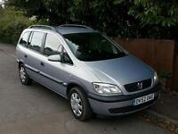 Vauxhall Zafira FSH Full MOT good clean example
